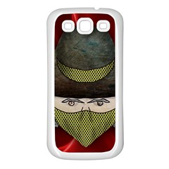Illustration Drawing Vector Color Samsung Galaxy S3 Back Case (white)
