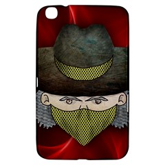 Illustration Drawing Vector Color Samsung Galaxy Tab 3 (8 ) T3100 Hardshell Case