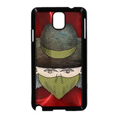 Illustration Drawing Vector Color Samsung Galaxy Note 3 Neo Hardshell Case (black)