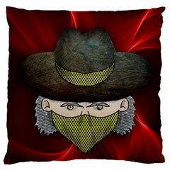 Illustration Drawing Vector Color Large Flano Cushion Case (one Side)