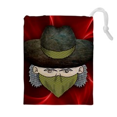 Illustration Drawing Vector Color Drawstring Pouches (extra Large)