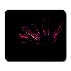 Purple Flower Pattern Design Abstract Background Large Mousepads