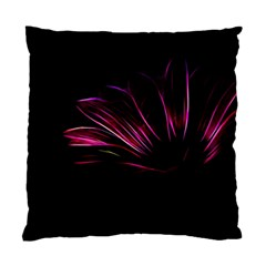Purple Flower Pattern Design Abstract Background Standard Cushion Case (two Sides)