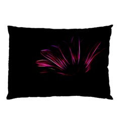 Purple Flower Pattern Design Abstract Background Pillow Case