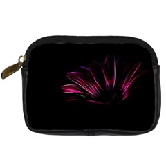 Purple Flower Pattern Design Abstract Background Digital Camera Cases