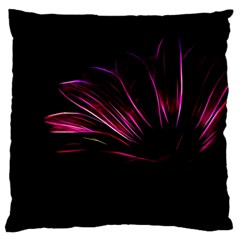 Purple Flower Pattern Design Abstract Background Large Cushion Case (one Side)