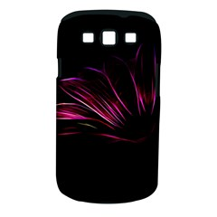 Purple Flower Pattern Design Abstract Background Samsung Galaxy S Iii Classic Hardshell Case (pc+silicone)