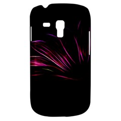 Purple Flower Pattern Design Abstract Background Galaxy S3 Mini