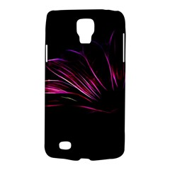 Purple Flower Pattern Design Abstract Background Galaxy S4 Active
