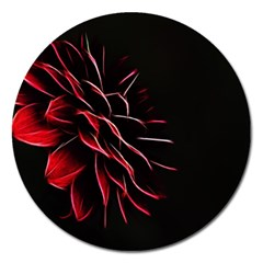 Pattern Design Abstract Background Magnet 5  (round)