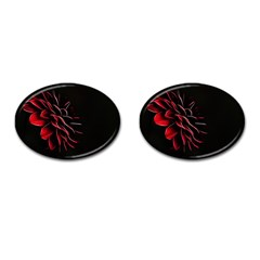 Pattern Design Abstract Background Cufflinks (oval)