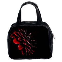 Pattern Design Abstract Background Classic Handbags (2 Sides)