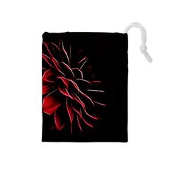 Pattern Design Abstract Background Drawstring Pouches (medium)