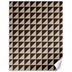 Brown Triangles Background Pattern  Canvas 12  X 16