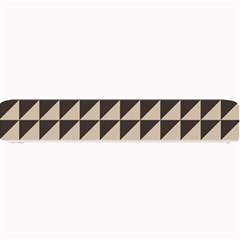 Brown Triangles Background Pattern  Small Bar Mats