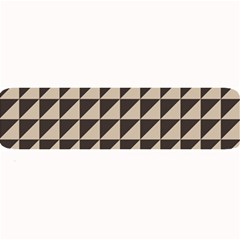 Brown Triangles Background Pattern  Large Bar Mats
