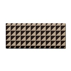 Brown Triangles Background Pattern  Cosmetic Storage Cases
