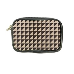 Brown Triangles Background Pattern  Coin Purse