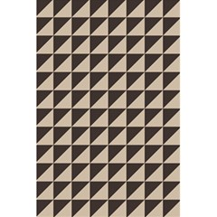 Brown Triangles Background Pattern  5 5  X 8 5  Notebooks