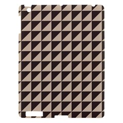 Brown Triangles Background Pattern  Apple Ipad 3/4 Hardshell Case