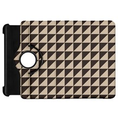 Brown Triangles Background Pattern  Kindle Fire Hd 7