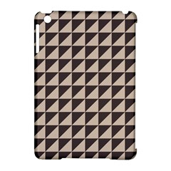 Brown Triangles Background Pattern  Apple Ipad Mini Hardshell Case (compatible With Smart Cover)
