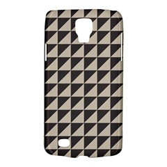 Brown Triangles Background Pattern  Galaxy S4 Active