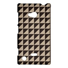 Brown Triangles Background Pattern  Nokia Lumia 720