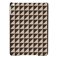 Brown Triangles Background Pattern  Ipad Air Hardshell Cases