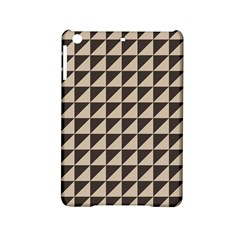 Brown Triangles Background Pattern  Ipad Mini 2 Hardshell Cases
