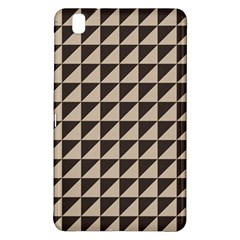 Brown Triangles Background Pattern  Samsung Galaxy Tab Pro 8 4 Hardshell Case