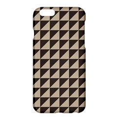 Brown Triangles Background Pattern  Apple Iphone 6 Plus/6s Plus Hardshell Case