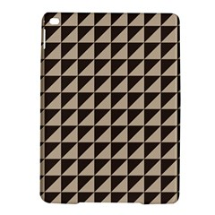 Brown Triangles Background Pattern  Ipad Air 2 Hardshell Cases