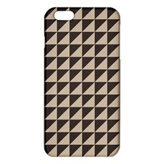 Brown Triangles Background Pattern  Iphone 6 Plus/6s Plus Tpu Case