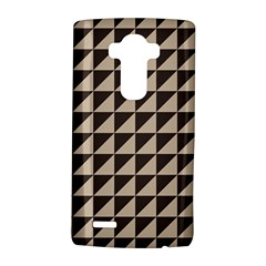 Brown Triangles Background Pattern  Lg G4 Hardshell Case