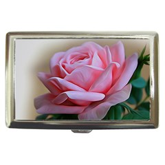 Rose Pink Flowers Pink Saturday Cigarette Money Cases