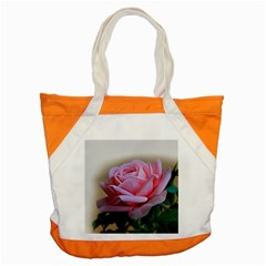 Rose Pink Flowers Pink Saturday Accent Tote Bag