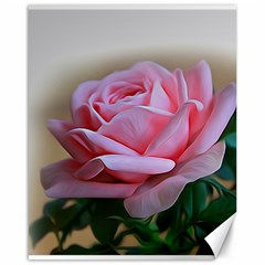 Rose Pink Flowers Pink Saturday Canvas 16  X 20