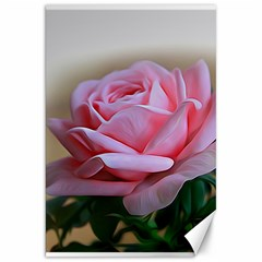 Rose Pink Flowers Pink Saturday Canvas 20  X 30