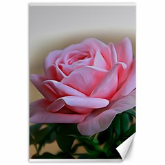 Rose Pink Flowers Pink Saturday Canvas 24  X 36
