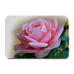 Rose Pink Flowers Pink Saturday Plate Mats