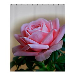 Rose Pink Flowers Pink Saturday Shower Curtain 60  X 72  (medium)