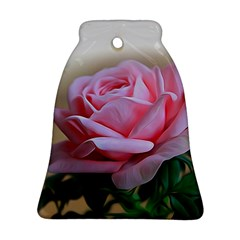 Rose Pink Flowers Pink Saturday Ornament (bell)