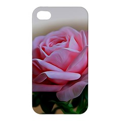 Rose Pink Flowers Pink Saturday Apple Iphone 4/4s Hardshell Case