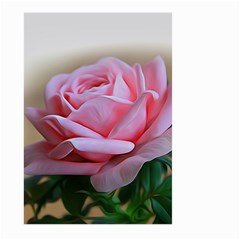 Rose Pink Flowers Pink Saturday Large Garden Flag (two Sides)