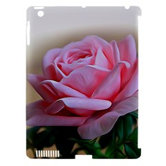 Rose Pink Flowers Pink Saturday Apple Ipad 3/4 Hardshell Case (compatible With Smart Cover)