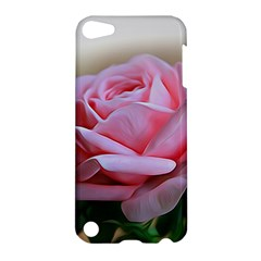Rose Pink Flowers Pink Saturday Apple Ipod Touch 5 Hardshell Case