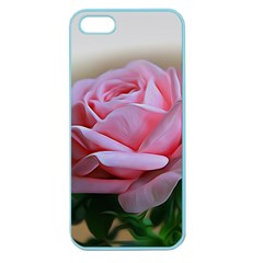 Rose Pink Flowers Pink Saturday Apple Seamless iPhone 5 Case (Color)