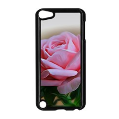 Rose Pink Flowers Pink Saturday Apple Ipod Touch 5 Case (black)