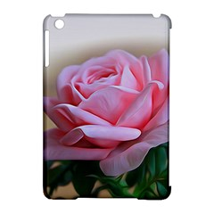 Rose Pink Flowers Pink Saturday Apple Ipad Mini Hardshell Case (compatible With Smart Cover)